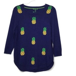 C. Wonder Preppy Pineapple Sweater